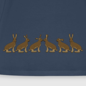 6x hares Toppe - Herre premium T-shirt