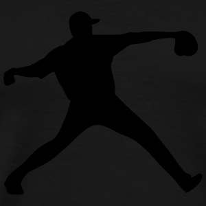 baseball pitcher T-Shirts - Men's Premium T-Shirt