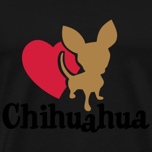 love_chihuaua Tops - Men's Premium T-Shirt