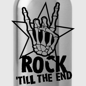 rock 'till the end star T-shirts - Drinkfles