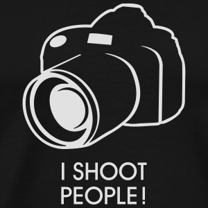 i shoot people Tee shirts - T-shirt Premium Homme