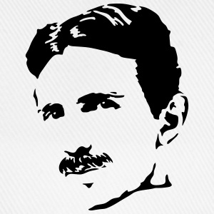 Nikola Tesla tank top men - Baseball Cap