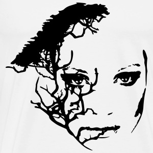 Face Tree Tops - Männer Premium T-Shirt