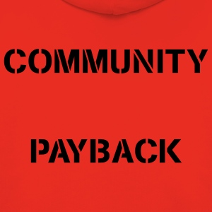 Community Payback for Men Original - Kinder Premium Hoodie