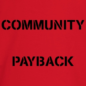 Community Payback for Men Original - Baby Langarmshirt