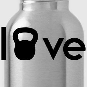 Kettlebell Love T-Shirts - Water Bottle