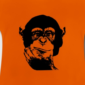 Denken Chimp Kids T-Shirt - Baby T-Shirt