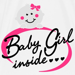 Baby Girl inside Tops - Männer Premium T-Shirt
