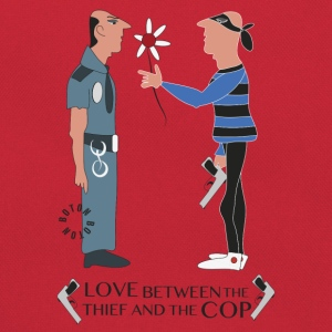 Love Between Thief & Cop Camisetas - Bandolera retro