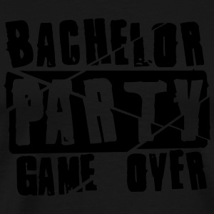Bachelor Party Game Over T-shirts - Premium-T-shirt herr