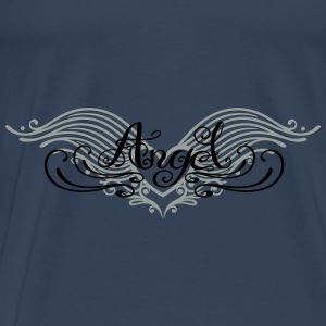 Engel,  Tribal, Tattoo - Männer Premium T-Shirt