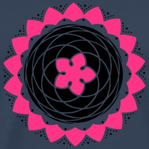 Earth Venus Pentagram, Orbit, Flower, Golden Ratio Toppar - Premium-T-shirt herr