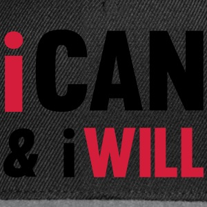 I Can And I Will Toppe - Snapback Cap