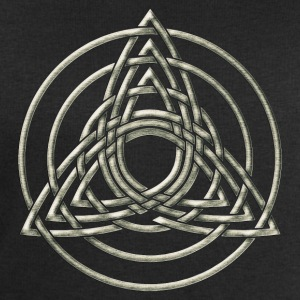 Triple Triquetra, Trinity, Symbol of perfection T-Shirts - Männer Sweatshirt von Stanley & Stella