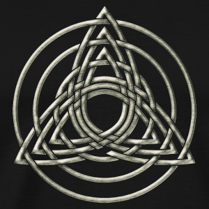 Triple Triquetra, Trinity, Symbol of perfection T-shirts - Premium-T-shirt herr