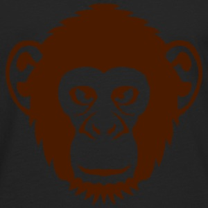singe chimpanze animal sauvage dessin 27 Tee shirts - T-shirt manches longues Premium Homme