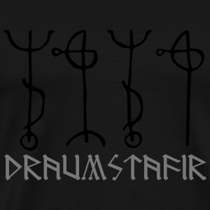 Draumstafir, sigil to dream what your heart desire Tops - Camiseta premium hombre