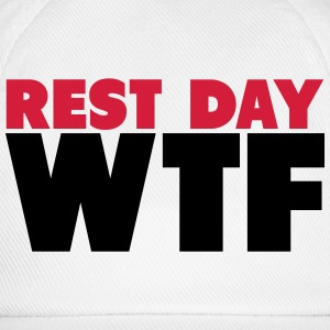 Rest Day WTF T-shirts - Baseballkasket