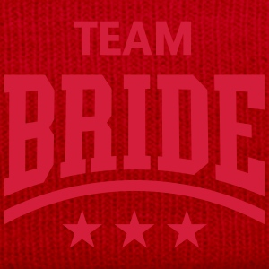 Team Bride (Stars) Tops - Winter Hat