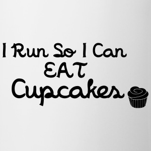 I Run So I Can Eat Cupcakes Tops - Mok