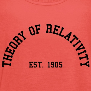 Theory of Relativity - Est. 1905 (Half-Circle) T-Shirts - Women's Tank Top by Bella
