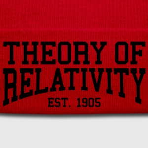 Theory of Relativity - Est. 1905 (Over-Under) T-Shirts - Winter Hat