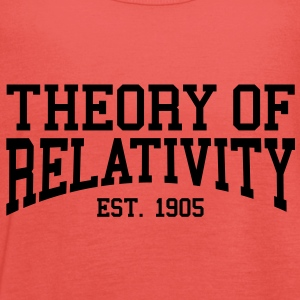 Theory of Relativity - Est. 1905 (Over-Under) T-Shirts - Women's Tank Top by Bella