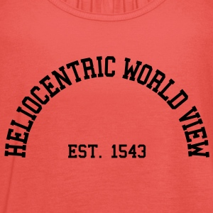 Heliocentric World View - Est. 1543 T-Shirts - Women's Tank Top by Bella