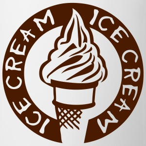 ice cream logo glace 3 Tee shirts - Tasse