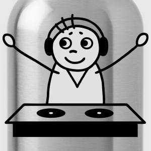 DJ on the mixer - V2 - Water Bottle