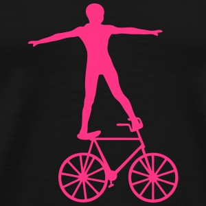 bicyclette equilibre discipline cirque 1 Tee shirts - T-shirt Premium Homme