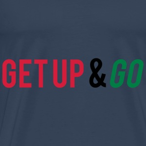 Get Up And Go Tops - Men's Premium T-Shirt
