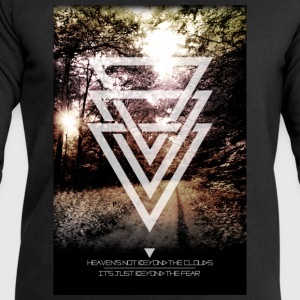 mystic forest triangles T-Shirts - Men's Sweatshirt by Stanley & Stella