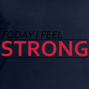 Today I Feel Strong Tops - Mannen sweatshirt van Stanley & Stella