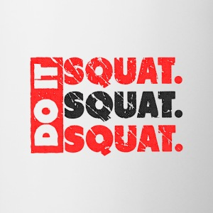 Do It. Squat.Squat.Squat | Vintage Style Débardeurs - Tasse