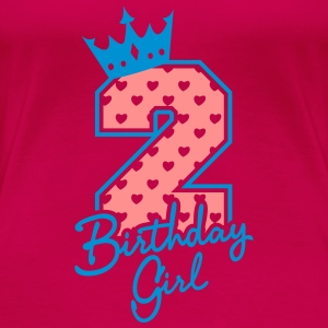 Zweiter Geburtstag-Second Birthday-Birthday Girl Tops - Frauen Premium T-Shirt
