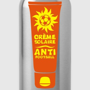 foot creme solaire anti football tube Tee shirts - Gourde