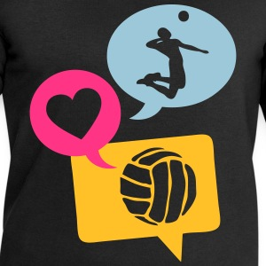 volleyball bulle love bubble 1 Débardeurs - Sweat-shirt Homme Stanley & Stella