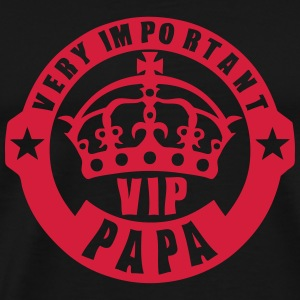 very important papa vip couronne logo 4 Tee shirts - T-shirt Premium Homme