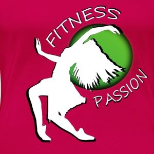 Fitness passion Tops - Frauen Premium T-Shirt
