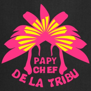 papy chef tribu coiffe indienne Tee shirts - Tablier de cuisine