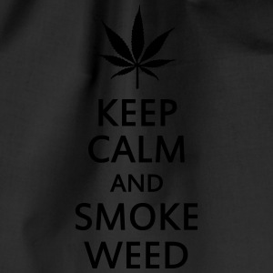 keep calm and smoke weed Top - Sacca sportiva