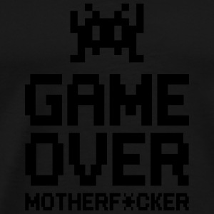 game over motherf*cker Tops - Men's Premium T-Shirt