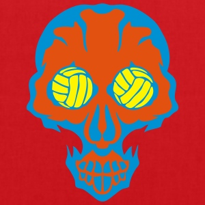 volley waterpolo tete mort skull oeil eye Débardeurs - Tote Bag