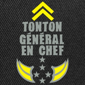 tonton general chef arme etoile 5 Tee shirts - Casquette snapback