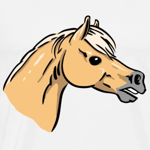 Horse Portrait Tops - Men's Premium T-Shirt