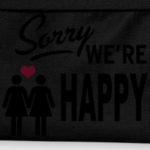 Sorry we are happy - girls Tops - Kinder Rucksack