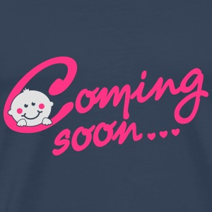 Coming soon Baby Tops - Men's Premium T-Shirt