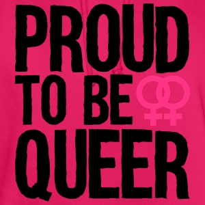 proud to be queer - lesbian Tops - Hoodie unisex