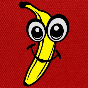 banane fruit smiley 611 Tee shirts - Casquette snapback